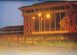 Universitas Sanata Dharma Kampus III, Paingan-Yogyakarta